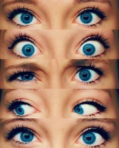 Как сделать глаза более голубыми глазами 801
