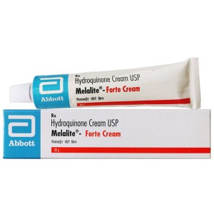 Крем отбеливающий Мелалайт Форте с гидрохиноном 4% (Hydroquinone Cream USP Melalite Forte), 30 гр.