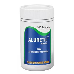 Алуретик Аларсин (Aluretic Tablets, Alarsin), 100 таблеток