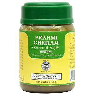 Брахми Гритам Арья Вадья Сала (Brahmi Ghritam Kottakkal), 150 гр