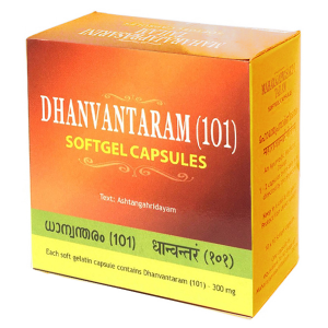 Дханвантарам 101 Тайлам Арья Вадья Сала (Dhanvantaram 101 Tailam Kottakkal), 100 капсул