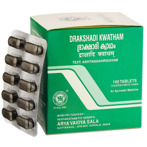 Дракшади Кватхам Коттаккал (Drakshadi Kwatham Kottakkal), 100 таблеток
