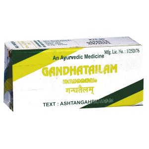 Масло Гандха тайлам Коттакал (Gandhatailam Kottakkal), 10 мл