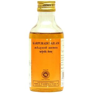 Карпуради тайлам Коттаккал (Karpuradi tailam AVS Kottakkal), 200 мл.