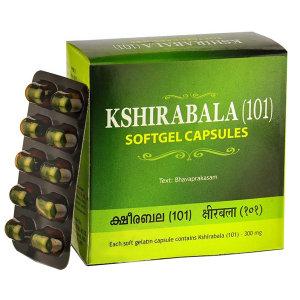 Кширабала (101) Коттаккал Аюрведа (Kshirabala (101) Kottakkal Ayurveda), 100 капсул