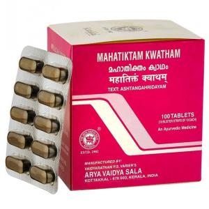 Махатиктам Кватхам Коттаккал (Mahatiktam Kwatham AVS), 100 таблеток