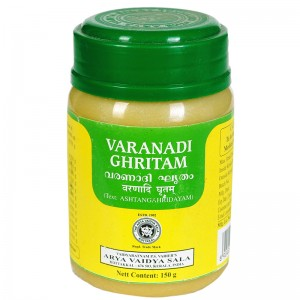 Варанади Гхритам Арья Вадья Сала Коттаккал (Varanadi Ghritam Arya Vaidya Sala Kottakkal), 150 грамм