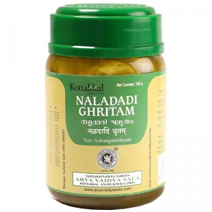 Наладади Гхритам Арья Вадья Сала Коттаккал (Naladadi Ghritam Arya Vaidya Sala Kottakkal), 150 грамм