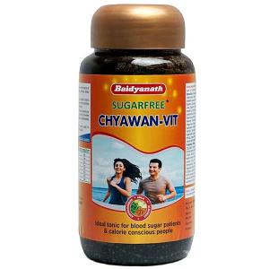 Чаванпраш Без сахара Байдианат (Chyawan Vit Sugafree Baidyanath), 500 гр.