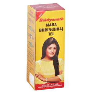 масло для роста волос Махабрингарадж (Mahabhringraj Tel, Baidyanath), 100 мл