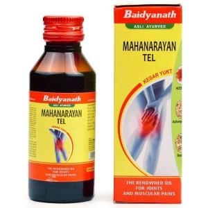 масло Маханараян Тейл (Mahanarayan Tel Baidyanath), 100 мл.