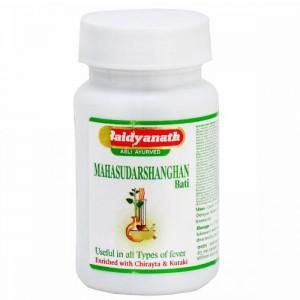 Махасударшан Гхан Бати Байдинат (Mahasudarshan Ghan Bati Baidyanath), 40 таблеток