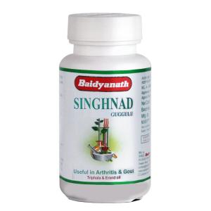 Сингхнади Гуггул (Singnad Guggulu Baidyanath), 80 таблеток