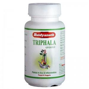 Трифала Гуггул (Triphala Guggulu Baidyanath), 80 таблеток