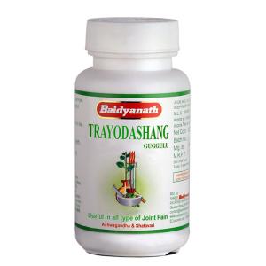 Трайодашанг Гуггулу Байдинатх (Trayodashang Guggulu Baidyanath), 80 таблеток