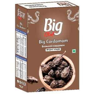 Кардамон чёрный целый (Black Cardamon Big Chef), 50 гр