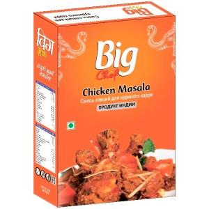 смесь специй для курицы Чикен масала (Chicken masala Big Chef), 100 гр.
