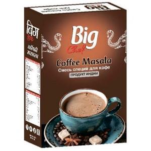 смесь специй для Кофе (Coffee Masala Big Chef), 100 гр