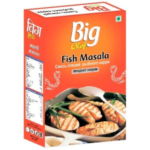 смесь специй для рыбы Фиш масала (Fish Masala Big Chef), 100 гр