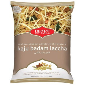 Закуска индийская Каджу Бадам Лакша Бикаджи (Kaju Badam Laccha Bikaji), 200 грамм