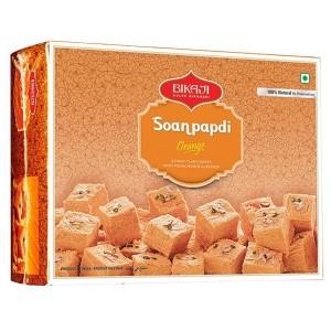 Соан Папди с апельсином (Soan Papdi Bikaji), 200 грамм