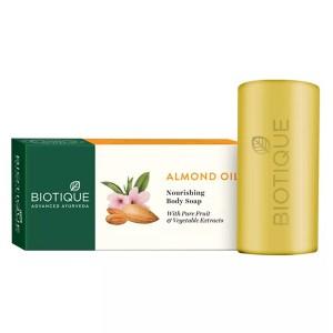 Натуральное мыло Био Миндаль (Bio Almond, Biotique), 150 грамм