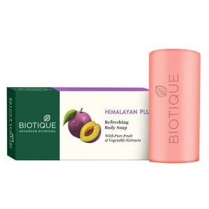 Натуральное мыло Био Гималайская слива (Bio Himalayan Plum, Biotique), 150 грамм