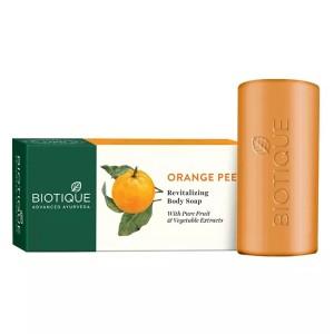 Натуральное мыло-скраб Био Апельсин (Bio Orange Peel, Biotique), 150 грамм