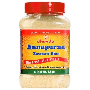 супер Басмати рис Аннапурна экстрадлинный (Annapurna Super Basmati Chanda), 1,5 кг