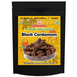 Кардамон чёрный крупный (Black Cardamon Chanda), 50 грамм