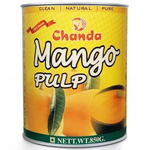 Манго пюре Чанда (Mango Pulp Chanda), 850 грамм