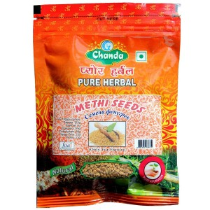 семена Метхи (Пажитника) (Methi seeds Chanda), 100 грамм