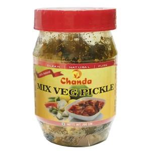 Овощной микс Пикули Чанда (Mix Veg Pickle Chanda), 200 грамм