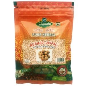 Мускатный Орех целый (Nutmeg Jaifal Chanda), 50 грамм