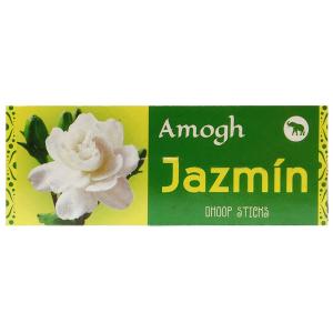 безосновные благовония Жасмин дхубы (Jazmin Amogh dhoop), 20 гр