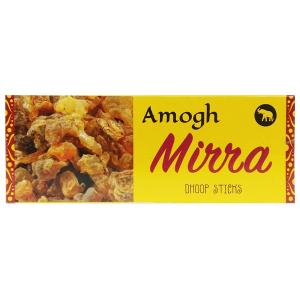 безосновные благовония Мирра дхубы (Mirra Amogh dhoop), 20 гр