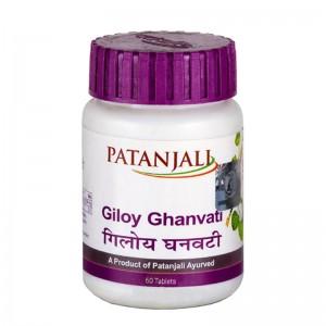 Гилой Гхан Вати (Giloy Ghanvati Patanjali), 60 таблеток