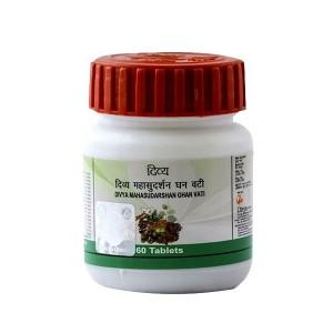 Махасударшан Гхан Вати Дивья (Mahasudarshan Ghan Vati Divya), 60 таблеток