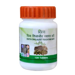 мумиё Шиладжит Расаяна Вати Дивья (Shilajeet Rasayan Vati Divya), 120 таблеток