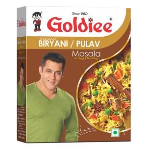 Специи для плова Бирьяни Голди (Biryani/Pulav Masala Goldiee), 50 грамм