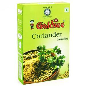 Кориандр молотый Голди (Coriander powder Goldiee), 100 грамм