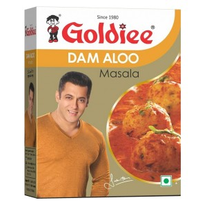 Специи для картофеля Дам Алу Голди (Dam Aloo Masala Goldiee), 50 грамм