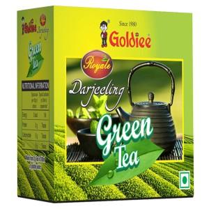 листовой зелёный чай Дарджилинг Голди (Green tea Goldiee), 100 грамм