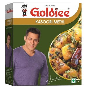 Листья Пажитника Голди (Kasoori Methi Goldiee), 100 грамм
