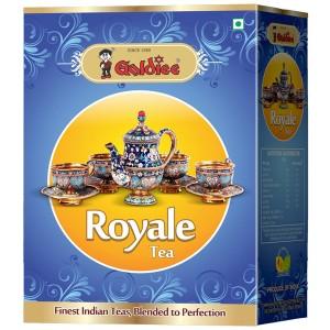 чёрный гранулированный чай Ассам СТС Роял Голди (Assam CTC Royale Goldiee), 250 грамм