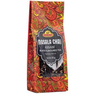 чай индийский чёрный со специями (Assam Masala Black Tea Good Sign Company), 50 гр