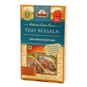 смесь специй для рыбы Фиш масала (Fish Masala, Good Sign Company), 50 гр