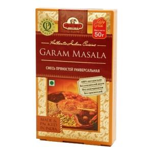 смесь специй универсальная Гарам масала (Garam Masala, Good Sign Company), 50 гр