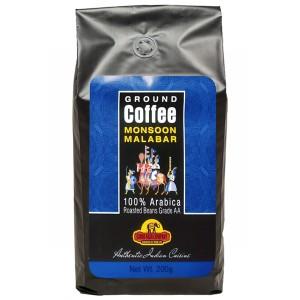 Кофе индийский молотый Муссонный Малабар (Monsoon Malabar Good Sign Company), 200 гр