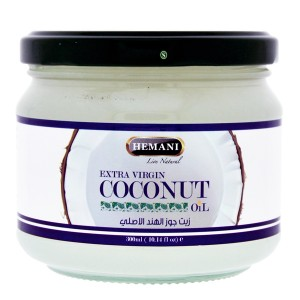 Масло Кокосовое Экстра Вирджин Хемани (Extra Virgin Coconut Oil Hemani), 300 мл